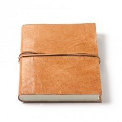 Leren notitieboek rustic