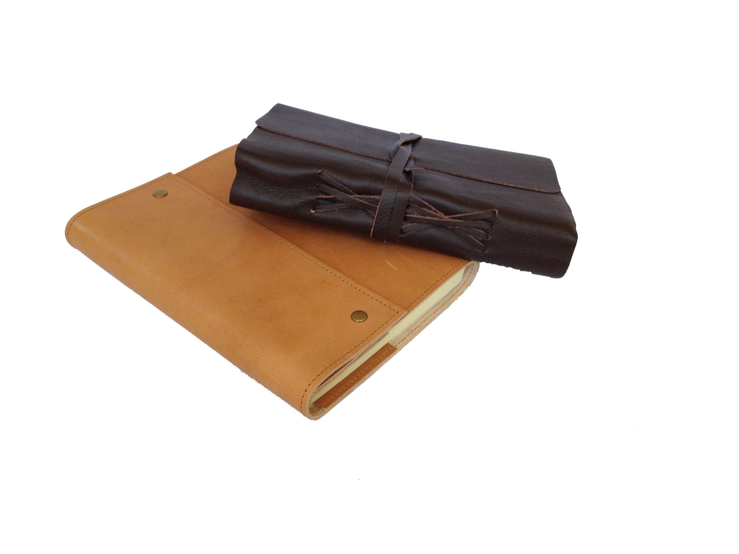 Leren notitieboek Savannah met timu