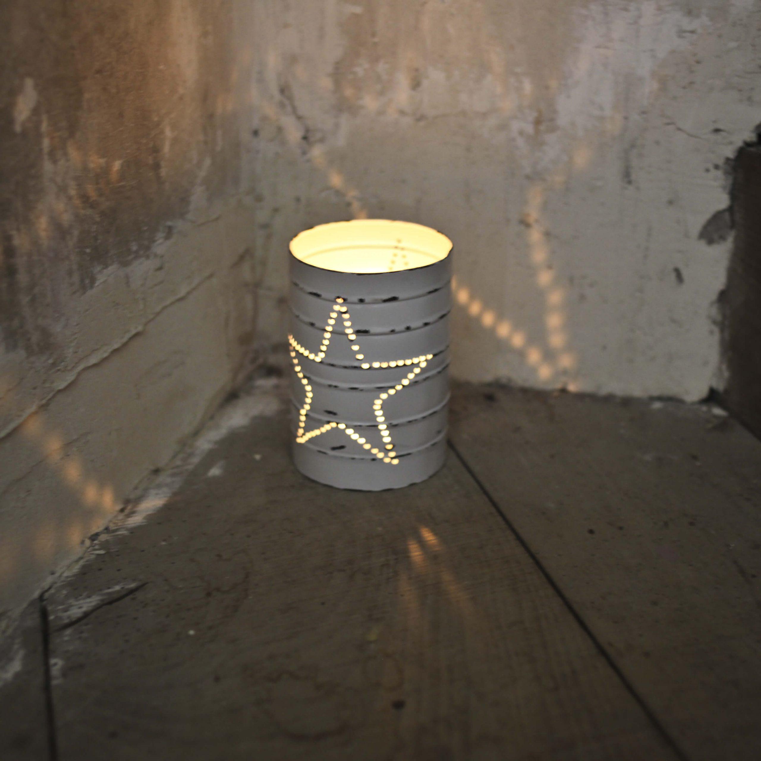 Nkuku lantaren blik met ster