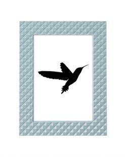 Present time fotolijst blauw grijs