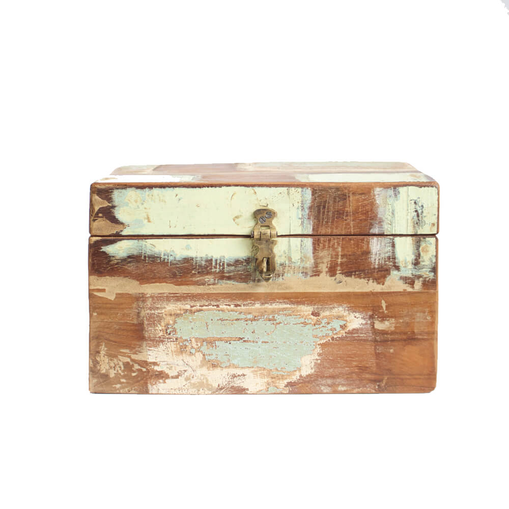 Gedenkkistje scrap wood S