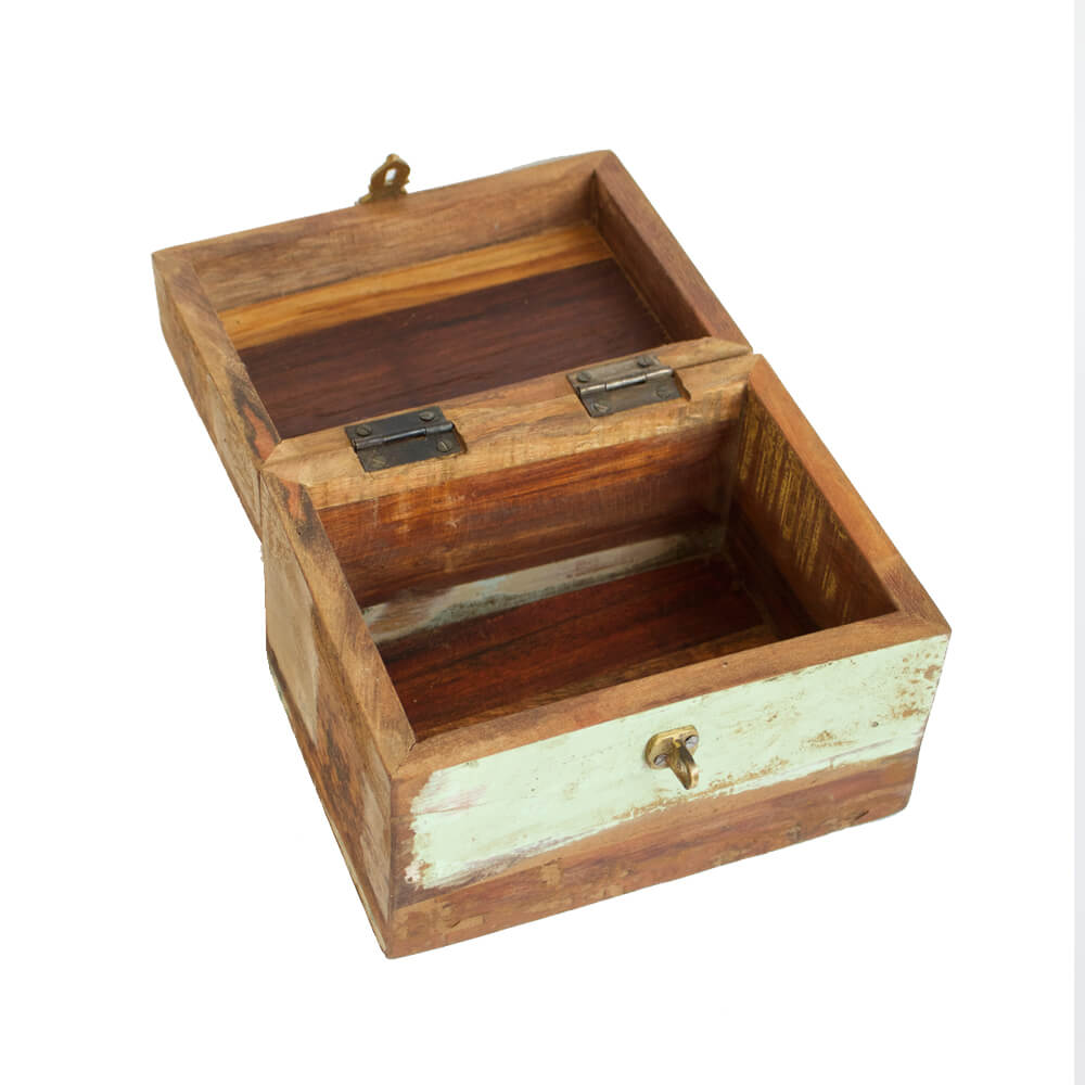 Gedenkkistje scrap wood XS