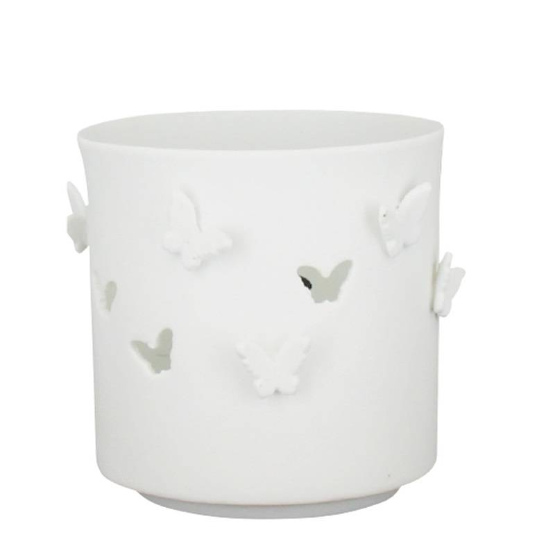 Waxinelichthouder vlinder groot